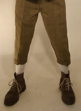 Tweed Plus Fours Breeches New Classic Heritage Green  Kids 28'' to Mens 46''