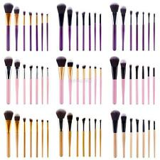 Style 7PCS Professional Wool Brand Make Up Brushes Set Cosmetic Foundation Tools