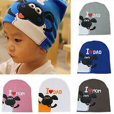Cute Boy Girl Child Newborn Soft Cotton Beanie Hat Cap Baby Infant Toddler Kids