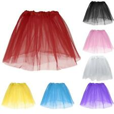 Toddler Kids Girl Princess Short Tutu Skirt Tulle Party Ballet Dance Dress