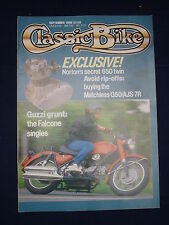 Classic Bike  - Sep 1988 - Guzzi - Norton - Matchless G50/AJS 7R