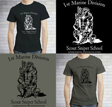 New United States Camp Pendleton Marine Corps Sniper School - USMC TShirt S-3XL