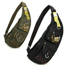 2016 Men Nylon Sling Chest Bag Satchel Tactical Military Messenger Shoulder Pack