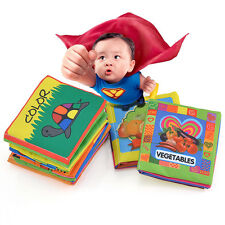 Intelligence development Cloth Bed Cognize Book Educational Toy for Kid Baby CHI