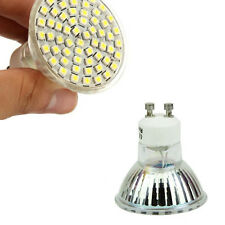 220V 3528 SMD GU10 Power Spot Light White 60 LED HOT Lamp Bulb 5W 6500K High
