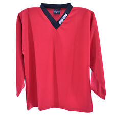 RED - Hockey Training Jersey, Ice Hockey Shirt, Training Top, Sports Jerseys