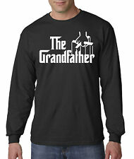 New Way 166 - Unisex Long-Sleeve T-Shirt The Grandfather Godfather Parody