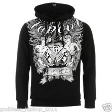 mens tapout mma wwe ufc sports fight gym hoodie med large xl 2xl  affliction