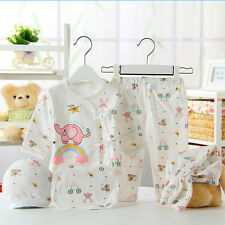 5PCS Newborn Baby Clothing 0-3 Month Boy/Girl Cotton Cartoon Underwear Clothes