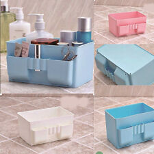 Storage Box Case DIY Desk Stationery Decor Cosmetic Makeup Plastic Organizer