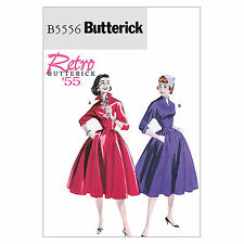 Butterick 5556 '55 50s 60s Vintage Full Dress NEW Retro Sewing Pattern B5556