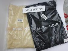 M+RC NOIR PULL OVER HOODIE BLACK | BEIGE 100% Authentic --- SOLD OUT MEDIUM!