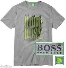 NWT Hugo Boss Green Label By Hugo Boss LOGO T-Shirt in Gray Size L