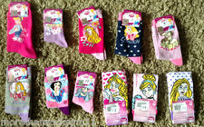 OFFICIAL DISNEY PRINCESS SOCKS CINDERELLA BELLE SNOW WHITE SLEEPING BEAUTY BNWT