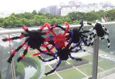 30CM/75CM Plush Spider Halloween Party Prop Window Home Decoration Adjustable