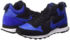 Men's Nike Internationalist Mid Casual Shoes, 682844 404 Sizes 8.5-11.5 Royal/Bl
