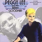 Sings with Benny Goodman by Peggy Lee (Vocals) (CD, Jun-1992, Sony Music...