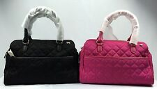 JUICY COUTURE HANDBAG, LARCHMONT NYLON MINI SATCHEL / CROSSBODY BAG