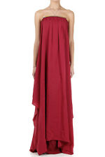 MARTIN MARGIELA MM1 Women Long Strapless Dress Made in Italy New