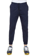 DSQUARED2 Dsquared² Men Blue Cotton Elastic Waist Trousers Pants Italy Made