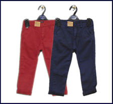 Boys Children's Soul & Glory Chinos Pants - Deep Red Age 5-6 Years