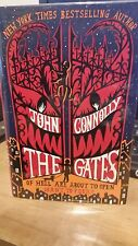 The Gates by John Connolly (2009, Hardcover) signed, 1st edition/1st printing.
