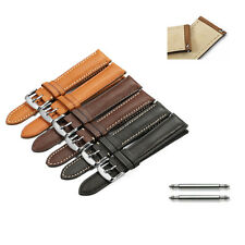 Quick Release Genuine Leather Watch Band Stainless Steel Pin buckle For TO1853