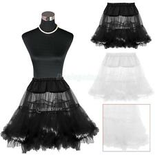 Lady Underskirt Rock Roll Petticoat Underskirt for Tutu Skirt Fancy Prom S/M/L