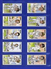 ESSEX COUNTY CRICKET CRICKETERS CARD SET SHELLEYS ICE CREAM 1984 GRAHAM GOOCH...
