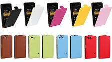 Genuine leather Flip Case Cover Open up Protector Skin For Sony xperia Go ST27i