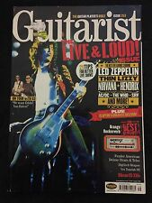 Guitarist August 2004 Jimmy Page Led Zeppelin Thin Lizzy Guitar Magazine