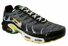 Nike Air Max Plus Tuned 1 Tn Air Black Grey White Rasta Edition Mens Trainers