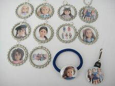 American Girl doll necklaces, zipper pulls, bracelets hair ties  party favors
