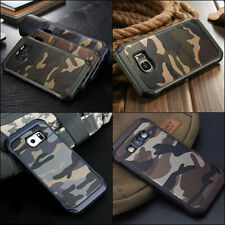 Camouflage Samsung Galaxy Note 4 5 8 Military Case Camo Army Rugged Rubber Slim
