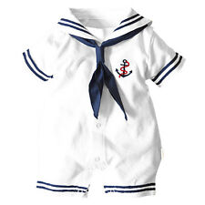 5X( summer clothing,newborn,baby boy clothes,navy style clothing,baby overall SP
