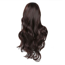 5X(Top Quality Synthetic Hair Gorgeous Ladies Long Wavy Curly Full - 2 Colors SP