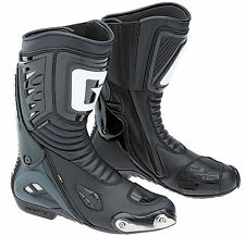 GAERNE GRW Black Aquatech Leather Waterproof Sports/Touring Boots made in Italy