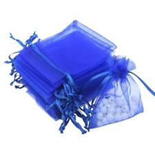 100pcs Organza Gift Bags Pouches Wedding Party Favours Candy Sweets Pouches