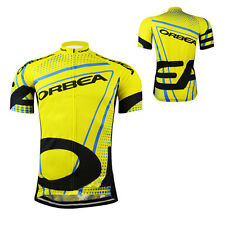 New Cycling Bike Short Sleeve Clothing Jersey Full Zippers Bicycle Sports Wear