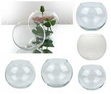Bubble Ball Fish Bowl Glass Vase Round Clear Wedding Table Centrepiece Decor D08
