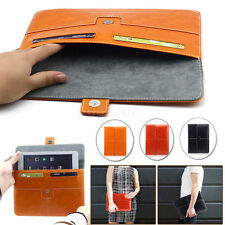 "Universal Leather Sleeve Case Money Card Pouch Bag For 7"" 7.9"" 8"" Tablet PC MID"