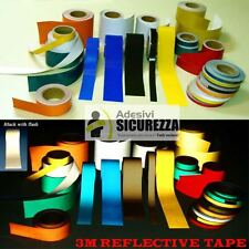 3M™ Scotchlite 580 Reflective vinyl Tape 8 colors range 4 size range x 2 Meters