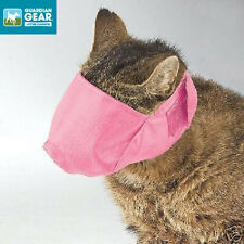 CAT GROOMING TRAINING Quick-Fit MUZZLE CATS PINK Cats