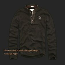 Abercrombie & Fitch Ruel No.925 vintage long sleeved henleys NWT authentic items
