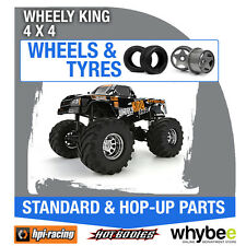 HPI WHEELY KING 4X4 [Wheels & Tyres] Genuine HPi 1/10 R/C Scale!