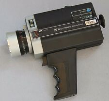 Vintage 1974 Bell & Howell Focus-Matic 673/XL Super 8 Movie Camera Collectible