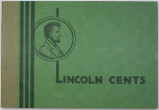 Wayte Raymond Empty Lincoln Cents Green Album 1948-1958