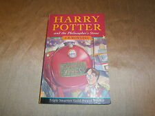 BLOOMSBURY FIRST EDITION HARRY POTTER & THE PHILOSOPHERS STONE - JOANNE ROWLING