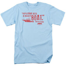 Jaws Movie You're Gonna Need a Bigger Boat Brody Tee Shirt Adult Sizes S-3XL