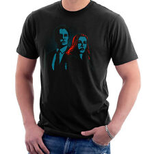 Truth Seekers Mulder and Skully X Files Men's T-Shirt